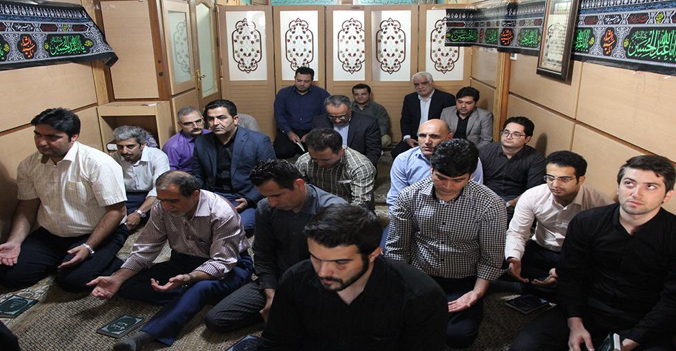 برگزاری مراسم پرفیض زیارت عاشورا در دهه اول ماه محرم در شرکت گلف اجنسی ایران